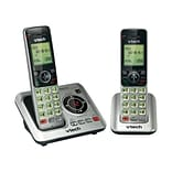 VTech® CS6629-2 Cordless Phone With Caller ID/Call Waiting; 50 Name/Number