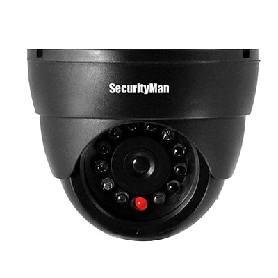 SecurityMan® Sm-320S Dummy Indoor Dome Camera With Flashing LED