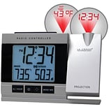 La Crosse Technology Projection Digital Alarm Clock with Temperature (WT-5220U-IT)