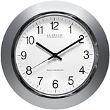 La Crosse Technology® 14 Atomic Analog Clock, Silver