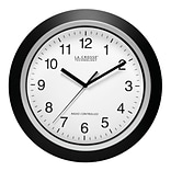 La Crosse Technology® 12 Atomic Analog Wall Clock, Black