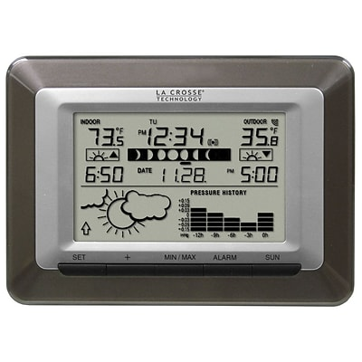 La Crosse Technology® Wireless Sun/Moon Forecast Desktop Station