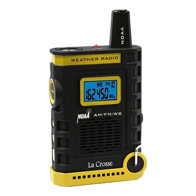 La Crosse Technology® 810805 Super Sports NOAA AM/FM Weather Radio