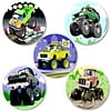 SmileMakers® Tuff Trucks Stickers, 2-1/2H x 2-1/2W, 100/Roll
