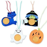 SmileMakers® Halloween Reflective Necklaces; 36 PCS
