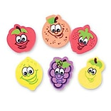 SmileMakers® Fruit Erasers, 24 Pcs