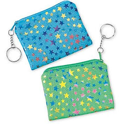 SmileMakers® Star Coin Purse Pulls; 24 PCS