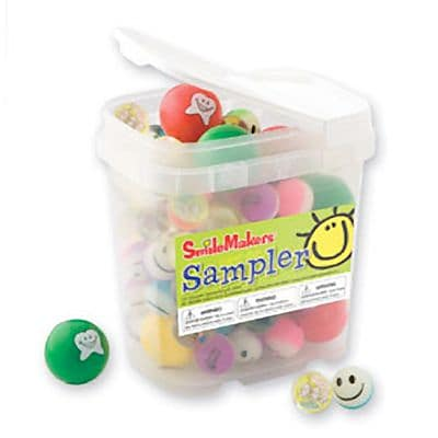 SmileMakers® Dental Ball Sampler; 96 PCS