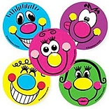 SmileMakers® Goofy Faces Stickers, 2-1/2H x 2-1/2W, 100/Box