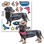 SmileMakers® Make-Your-Own Dress-Up Dog Stickers; 75/Roll