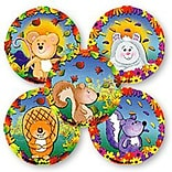SmileMakers® Assorted Fall Animals Stickers, 2-1/2H x 2-1/2W, 100/Box