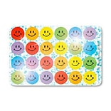 SmileMakers® Sparkle Multicolored Smiley Faces; 1800/Box