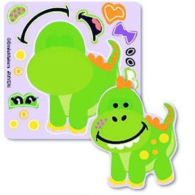 SmileMakers® Make-Your-Own Dino Stickers; 75/Roll
