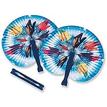 SmileMakers® Tropical Fish Folding Fans; 24 PCS