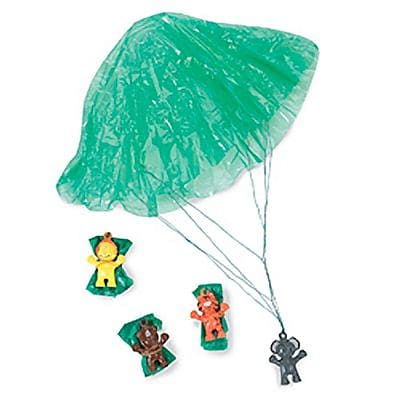 SmileMakers® Zoo Animal Paratroopers; 48 PCS