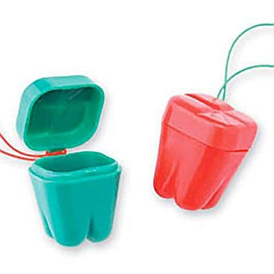 SmileMakers® Holiday Tooth Holders; 144 PCS