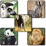 SmileMakers® Favorite Animals Stickers, 2-1/2H x 2-1/2W, 100/Roll