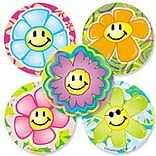 SmileMakers® Flower Power Stickers, 2-1/2H x 2-1/2W, 100/Roll