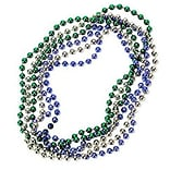 SmileMakers® Mardi Gras Bead Necklaces; 72 PCS