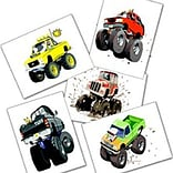 SmileMakers® Monster Truck Tattoos; 144 PCS