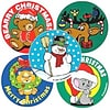 SmileMakers® Christmas Favorites Stickers, 2-1/2H x 2-1/2W, 100/Box