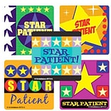 SmileMakers® Star Patient Star Stickers, 2-1/2H x 2-1/2W, 100/Box