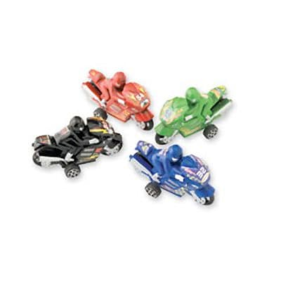 SmileMakers® Pullback Motorcycle Racers; 36 PCS