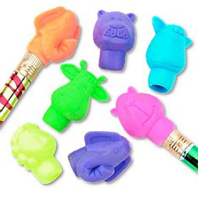 SmileMakers® Animal Pencil Top Erasers, 144 Pcs