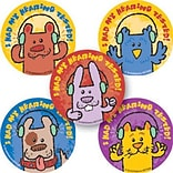 SmileMakers® Animal Hearing Test Stickers, 2-1/2H x 2-1/2W, 100/Box