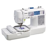Brother® Computerized Sewing and Embroidery Machine, One Needle