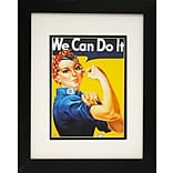 Diamond Decor We Can Do It Professionally Framed Poster Print Art, 13 x 16