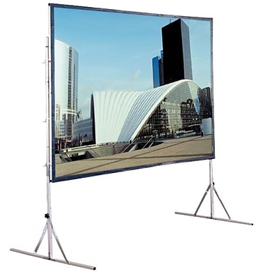 Draper® 218030 120 Cinefold Portable Projection Screen; 4:3, White Casing