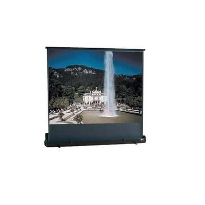 Draper® 230006 73 Roadwarrior Portable Projector Screen; 16:9, White Casing