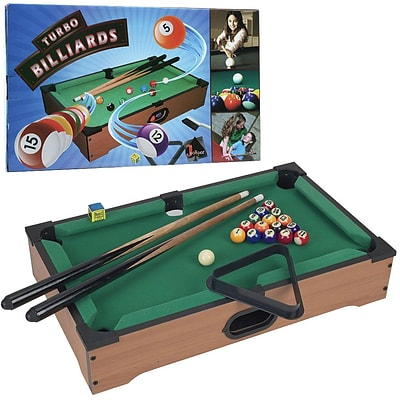 Trademark Games™ Mini Tabletop Pool Table