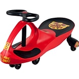 Lil Rider™ Rescue Firefighter Wiggle Ride-on Car, Red