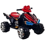 Lil Rider™ Battery-Powered Pro Circuit Hero 4-Wheeler, Black/Red