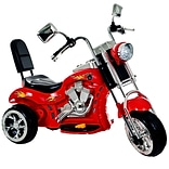 Lil Rider™ Rocking Three Wheel Chopper Motorcycle, Red