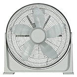 Optimus F-7200 20 90 deg Pivot Turbo High Performance Air Circulator; White