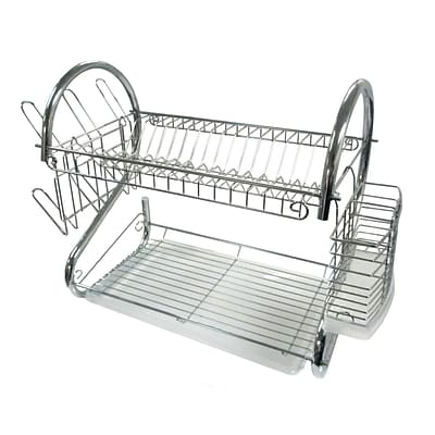 Better Chef® 22 Steel Dish Rack, Chrome