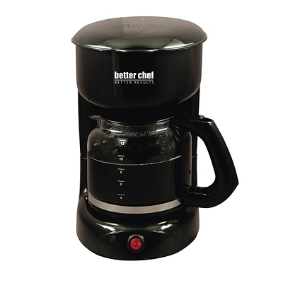 Better Chef® 12 Cup Coffee Maker, Black (93575783M)