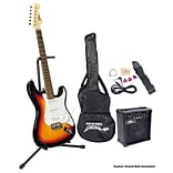 Pyle® Beginner Electric Guitar Package;  Sunburst