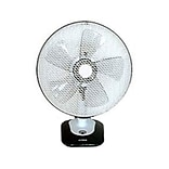 Optimus F-1212 12 Oscillating Table Fan With Soft Touch Switch and LED