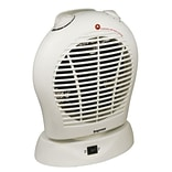 Impress IM-730 Oscillating Fan Heater With Thermostat; White