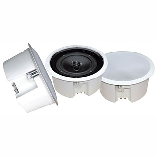Pyle® PDPC8T 300 W In Ceiling Enclosed Speaker System W/Rotary Tapping 70 V Transformer