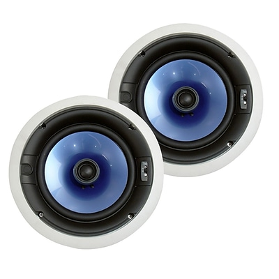 Pyle® PIC8E 300 W High End 8 Two-Way In Ceiling Speaker System W/Adjustable Treble Control