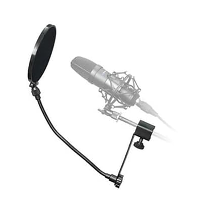 Technical Pro MKPF1 6 Clamp On Microphone Pop Filter