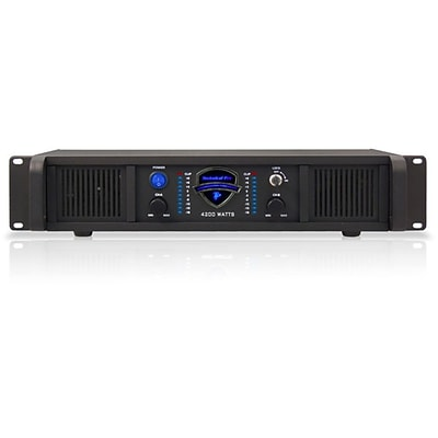 Technical Pro LZ4200 2U 4200 W Professional 2CH Power Amplifier,  Black