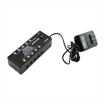 Pyle® DC Pedal Board Power Supply For Up To 10 Guitar Effects Pedals At 9 Volts