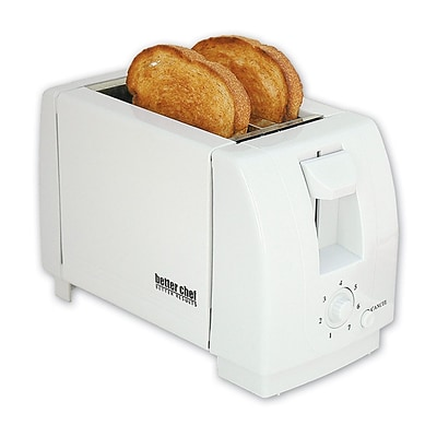 Better Chef® Two Slice Toaster; White