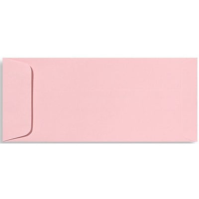 LUX® 70lbs. 4 1/8 x 9 1/2 #10 Open End Envelopes, Candy Pink, 1000/BX